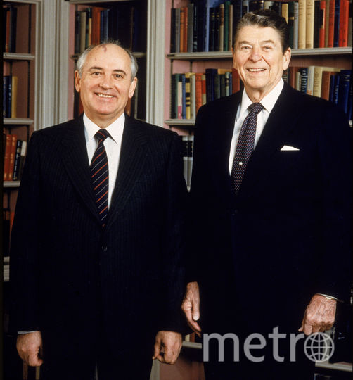 Михаил Горбачев и Рональд Рейган. Фото Getty