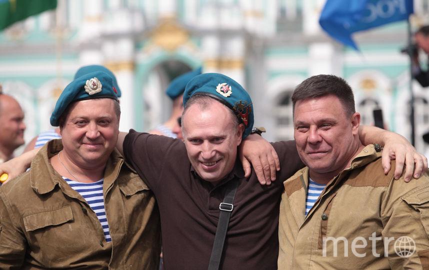 """День ВДВ в Петербурге. Фото Святослав Акимов, """"Metro"""""""