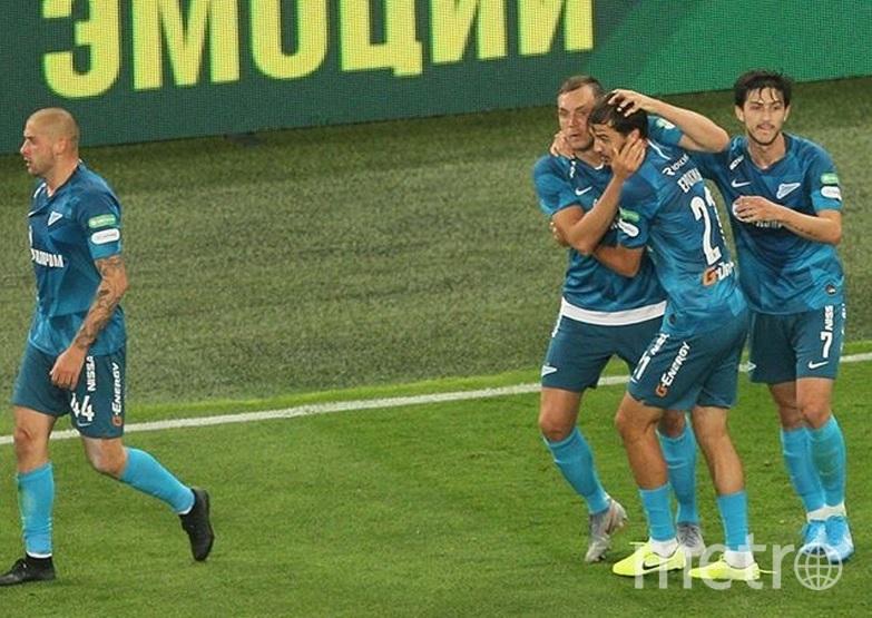 Петербуржцы смогли спастись от поражения на 93-й минуте благодаря голу Артёма Дзюбы. Фото Скриншот @zenit_spb