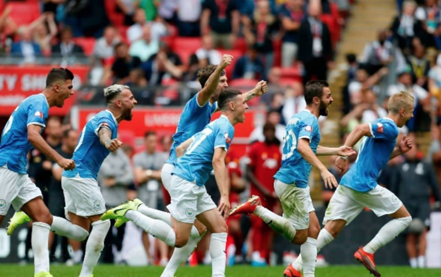 """Манчестер Сити"" выиграл Суперкубок Англии. Фото Скриншот @takefootball78"