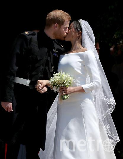 Свадьба Меган Маркл и принца Гарри. Май 2018 года. Фото Getty