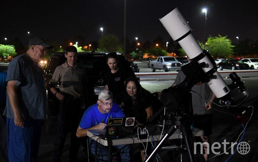 Центр изучения околоземных объектов НАСА отслеживает астероиды и кометы, которые находятся вблизи нашей планеты. Фото Getty