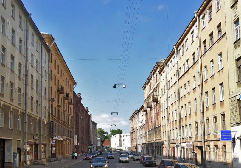 Трагедия произошла на Нарвском проспекте. Фото Яндекс.Панорамы