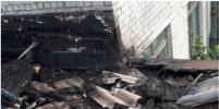 После пожара на крыше университета морского и речного флота в Петербурге начата проверка