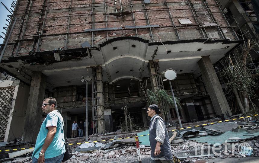 По меньшей мере 20 человек погибло и ещё 47 было ранено в результате взрыва в Каире. Фото AFP