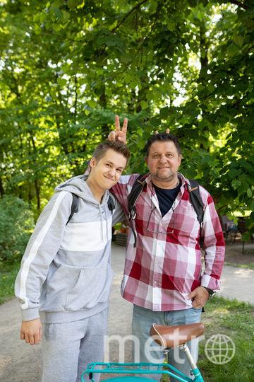 Александр Самойленко с сыном. Фото Предоставлено пресс-службой.