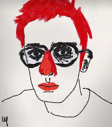 "Работа Аполлона Шнурова ""Автопортрет"". Фото Instagram.com/pavelapollon"