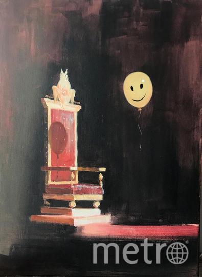 Картина Ивана Разумова «Странствующий трон». Фото Все фото предоставила пресс-служба фестиваля