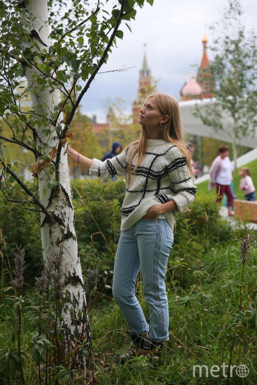Блогер Поля из деревки прогулялась по Зарядью. Фото Василий Кузьмичёнок