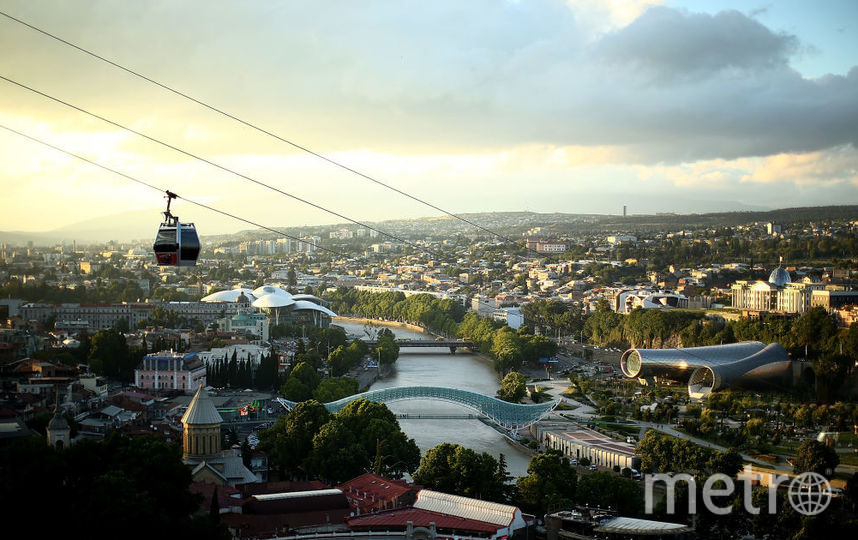 Грузия, Тбилиси. Фото Getty