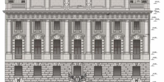 «Сохранение здания Русского торгово-промышленного банка», компания «АСМ Групп».