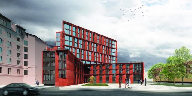 «Гостиница на Лиговском проспекте», архбюро Sloi Architects.