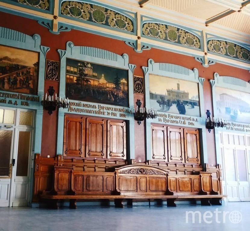 """Старейший железнодорожный вокзал Петербурга был открыт в 1837 году. Фото """"Metro"""""""