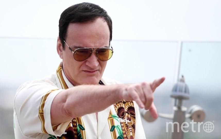 Режиссер Квентин Тарантино во время фотоколла на крыше отеля The Ritz Carlton Moscow в Москве. Фото РИА Новости