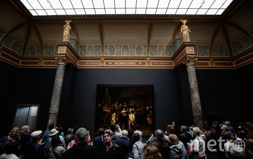 "Картина ""Ночной дозор"" Рембрандта. Фото Getty"