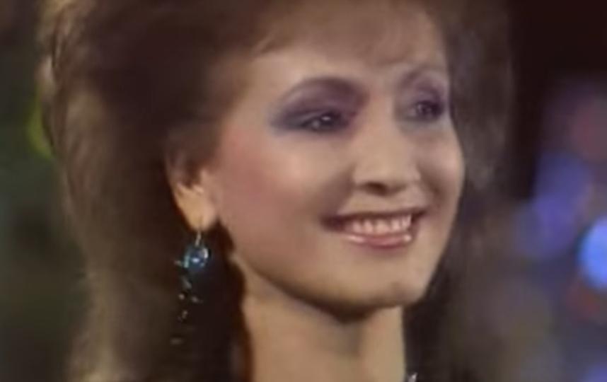 София Ротару в молодости. Фото Скриншот Youtube