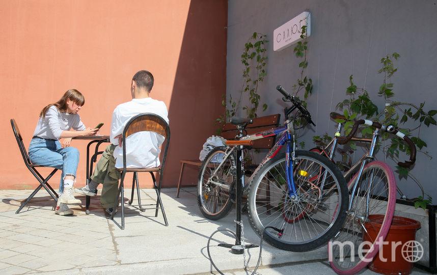 В Москве открылось велокафе. Фото Василий Кузьмичёнок