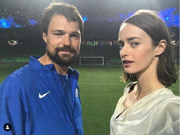Ольга Зуева и Данила Козловский. Фото скриншот instagram.com/_olyazueva/