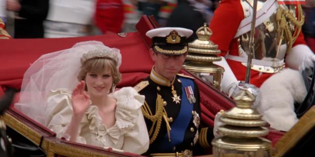 Свадьба принцессы Дианы и принца Чарльза.