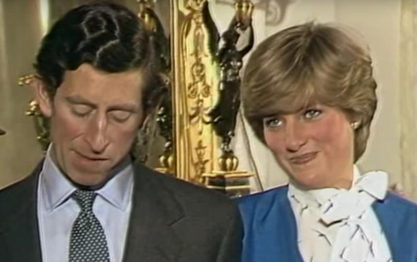 Интервью в день помолвки принца Чарльза и принцессы Дианы. Фото Скриншот Youtube