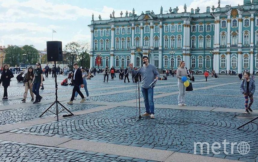 """В соцсетях по хештегу #питерчитает уже десятки видео с выступлениями смелых петербуржцев. Фото vk.com/piterchitaet и instagram - piterchitaet, """"Metro"""""""
