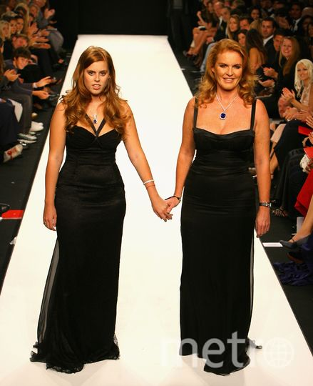 С мамой на Неделе высокой моды в Лондоне в 2007 году. Фото Getty