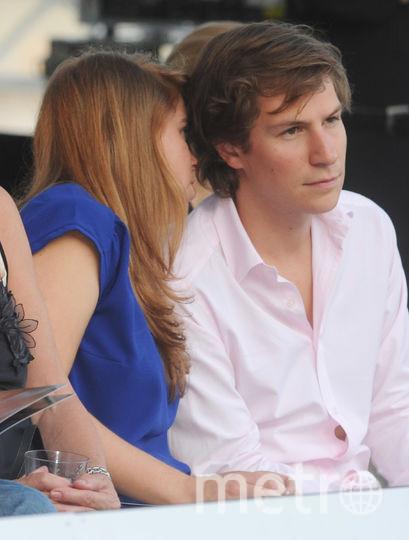 В 2009 году: Беатрис и ее экс-бойфренд Дэйв Кларк. Фото Getty