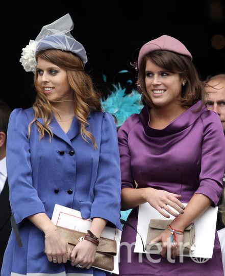 Беатрис и Евгения в 2012-м году. Фото Getty