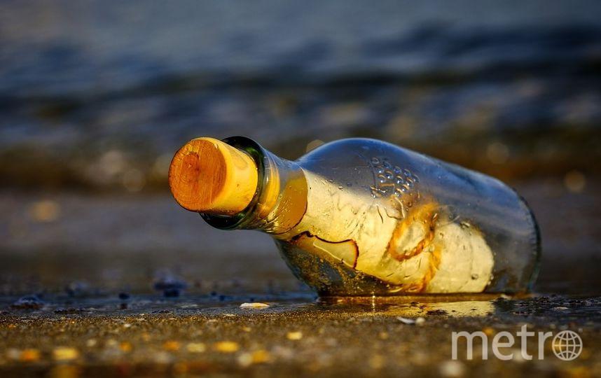 Послание в бутылке. Фото Pixabay
