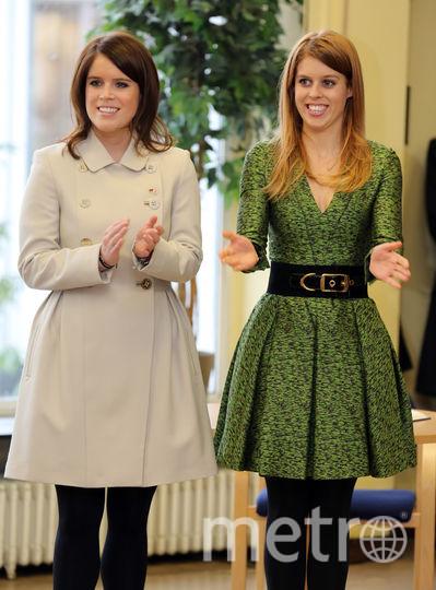 Евгения и Беатрис в январе 2013го. Фото Getty