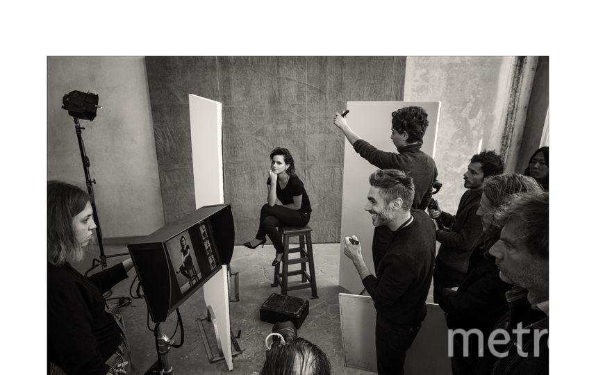 Эмма Уотсон. Бэкстейдж фото. Фото Алессандро Скотти, фотографии со съемок Календаря Pirelli 2020 Паоло Роверси