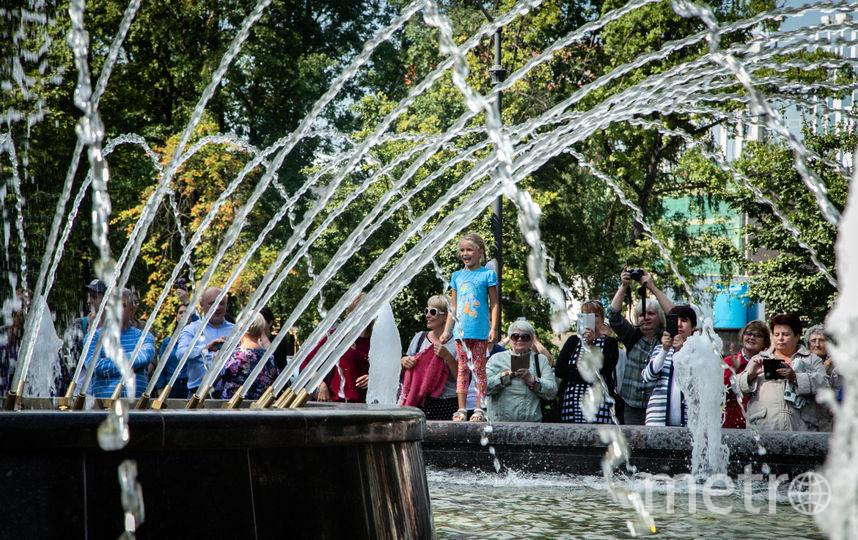 """Фонтан в Невском районе открыли после реконструкции. Фото https://www.gov.spb.ru/, """"Metro"""""""