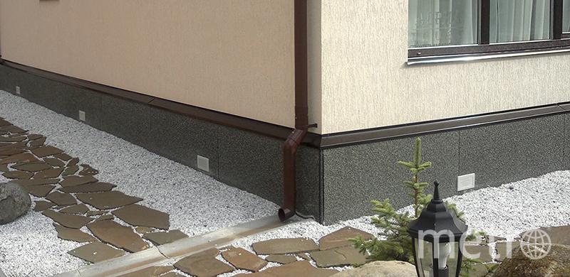 "Надежная отделка цоколя Eskosell. Фото https://ekoplat.ru, ""Metro"""