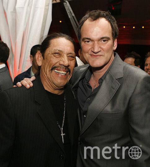 Дэнни Трехо и Квентин Тарантино. Фото Getty