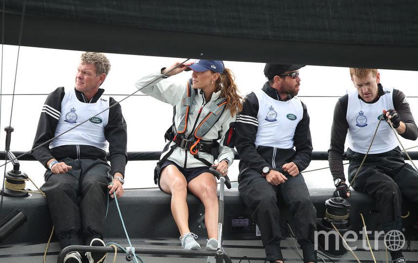 Регата 8 августа: Уильям и Кэтрин в разных командах. Фото Getty