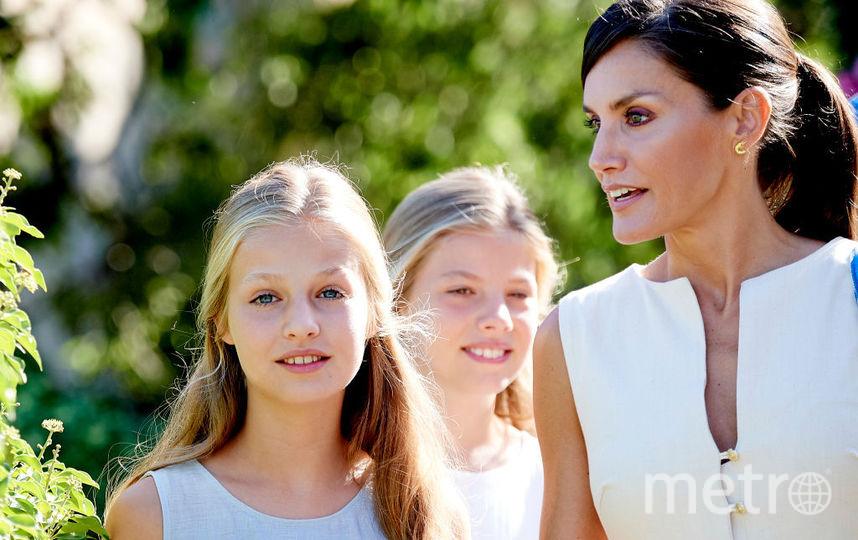 Летиция с дочками на Майорке. Фото Getty