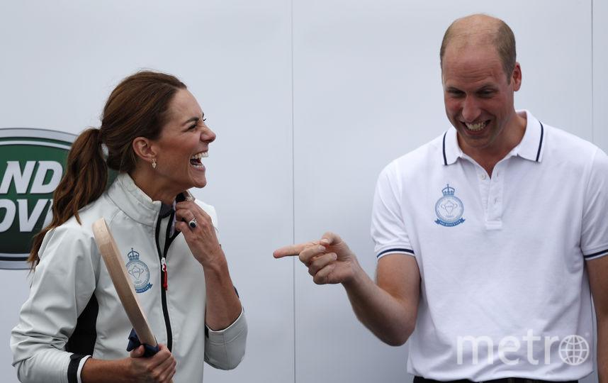 Кейт Миддлтон и принц Уильям. Фото AFP