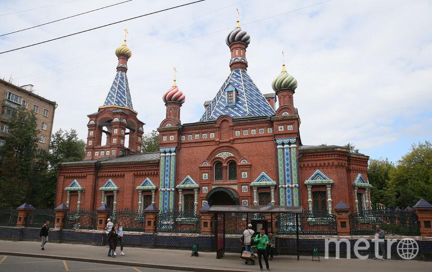 Церковь в псевдорусском стиле, расположенная на пересечении Хавской улицы и Серпуховского Вала, была построена в 1911–1912 годах. Фото Василий Кузьмичёнок