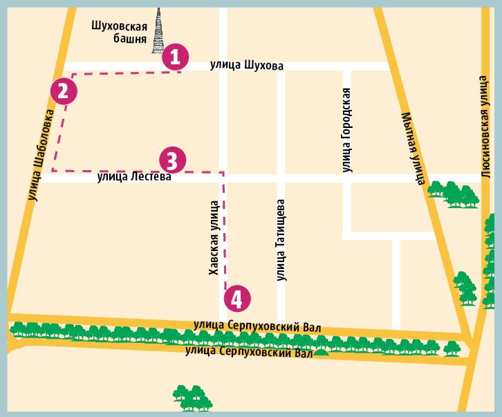 """Карта маршрута. Фото """"Metro"""""""