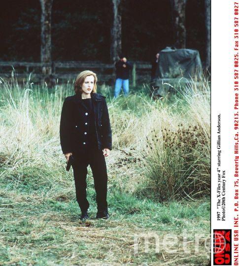 Джиллиан Андерсон в молодости. Фото Getty