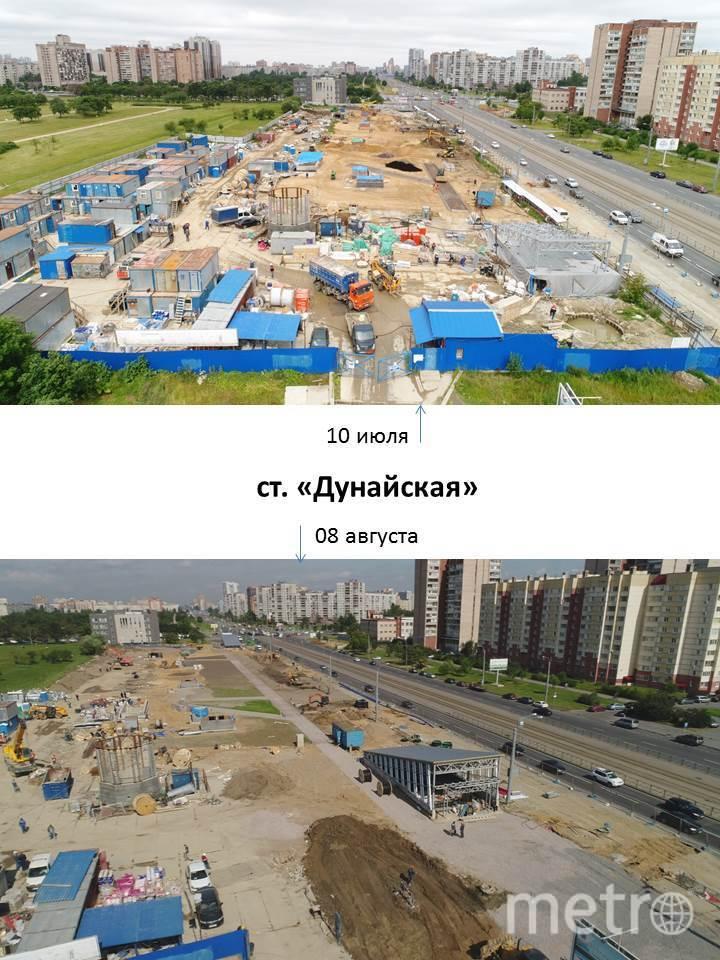 """Результат за месяц работ по благоустройству территорий вокруг новых станций Фрунзенского радиуса. Фото https://vk.com/feed?w=wall-149018384_2822, """"Metro"""""""
