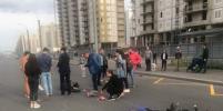 Второе жесткое ДТП за сутки на Ленинском в Петербурге: пострадал мотоциклист