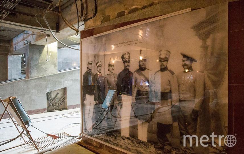 Импровизированный музей МЧС. Фото www.gov.spb.ru