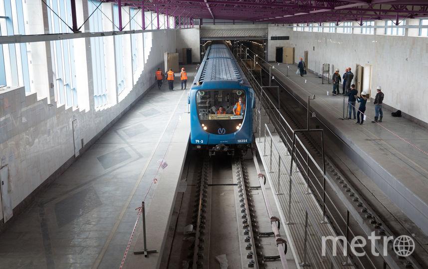 На Фрунзенском радиусе  идет пусконаладка оборудования. Фото www.gov.spb.ru