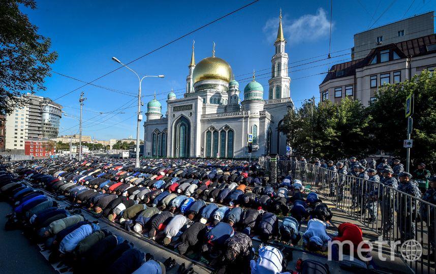Празднование исламского праздника Курбан-байрам в этом году началось 11 августа. Фото AFP