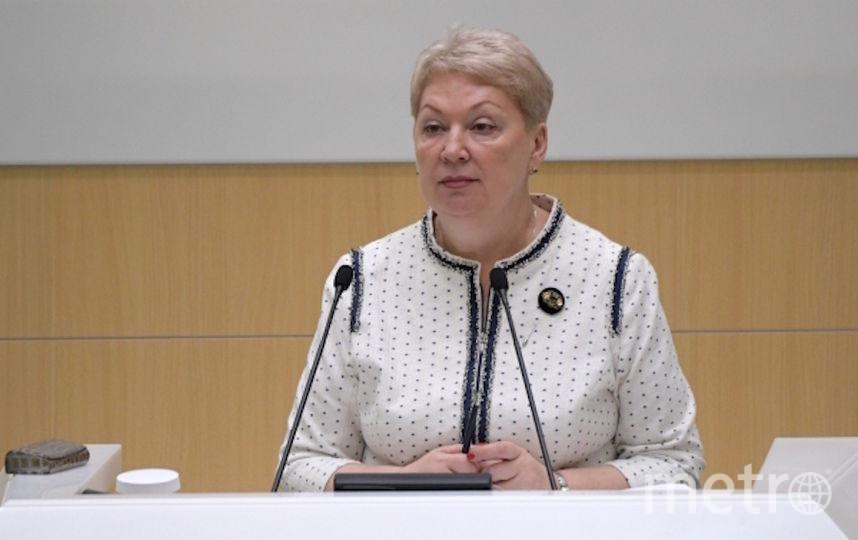 Министр просвещения РФ Ольга Васильева. Фото РИА Новости