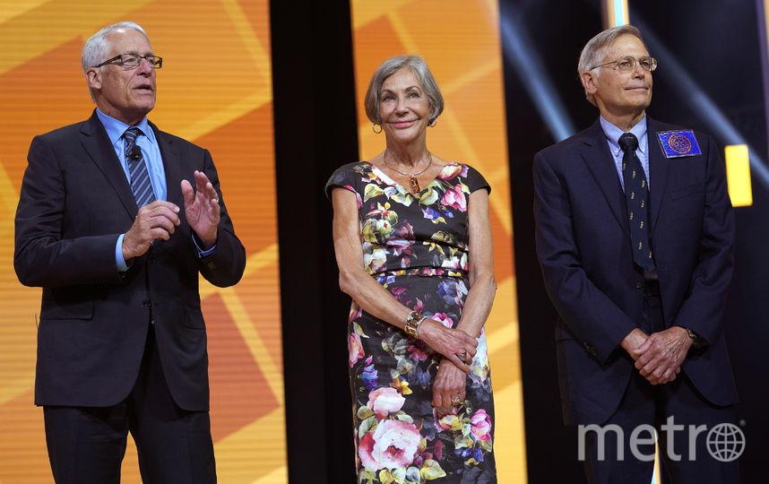 Джим Уолтон, Элис Уолтон и Роб Уолтон. Фото Getty
