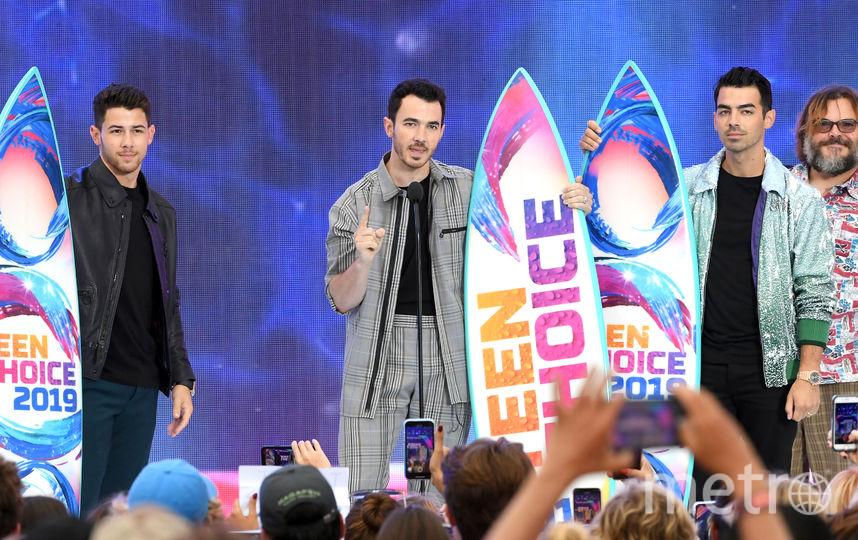 Jonas Brothers. Фото Getty
