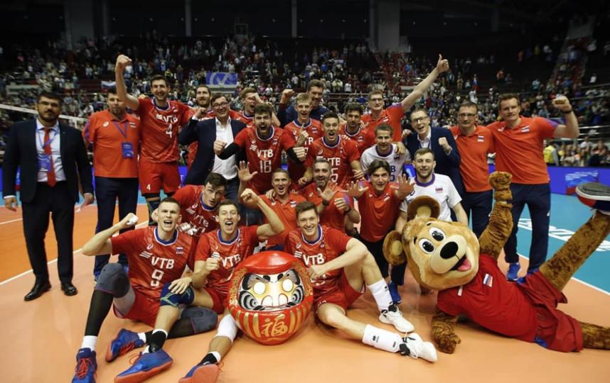 Сборная России по волейболу отобралась на Олимпиаду в Токио. Фото Скриншот @mens.volley