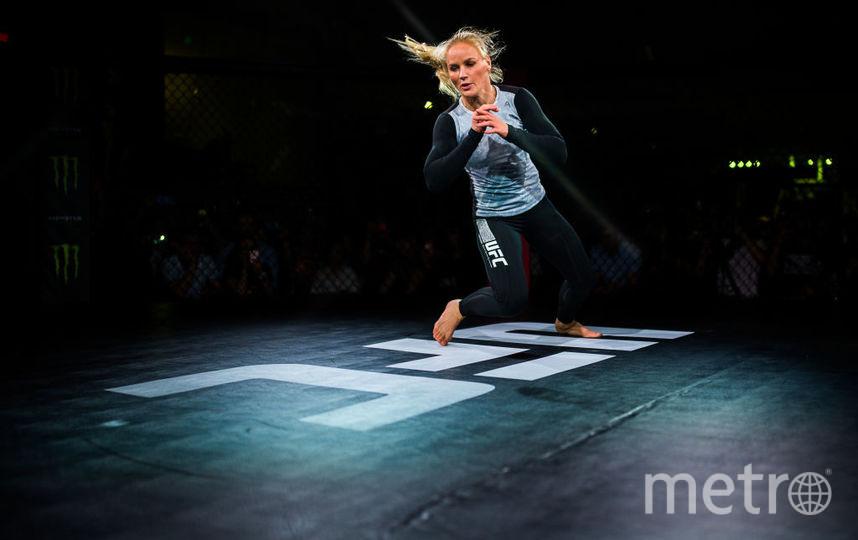 Чемпионка UFC Валентина Шевченко отметила победу зажигательной сальсой. Фото Getty